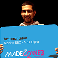 Colaborador Made2web Antenor Silva